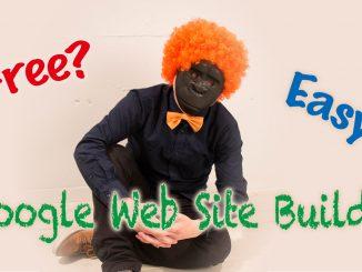 無料で簡単に自社サイトが作れる【Googleの新サービス ウェブサイトビルダー】をいじってみた