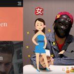 【動画】女?男?海外のサイトデザインが斬新ですごいw