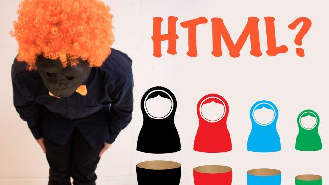 HTMLってまさかあの人形と同じじゃない?