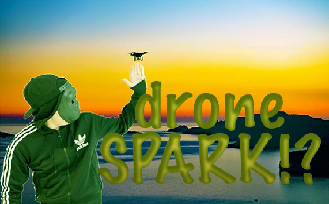 【未来型ドローン】ゴリラさんでも欲くなる…DJI  SPARKとは何者!?