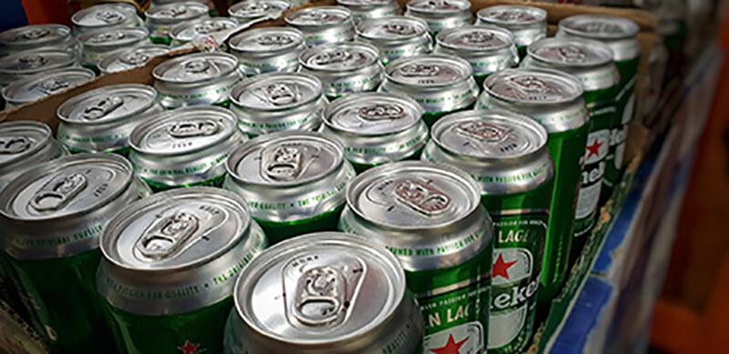 缶ビール イメージ