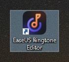 アイコンをクリックしたらすぐEaseUS Ringtone Editorを利用できる